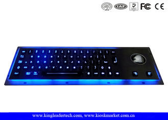 Waterproof Illuminated Metal Keyboard EMC With High Temperature-Resistant Polycarbonate Keys